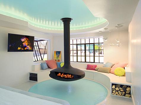 The Gyrofocus Fireplace!